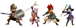 final fantasy explorers artwork 1 300x113 Final Fantasy Explorers (3DS) Logo, Artwork, Screenshots, & Official Website
