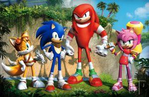sonic boom key art 1 300x196 Sega Announces Sonic Boom Logo, Screenshots, TV Visuals, Key Art, & Press Release