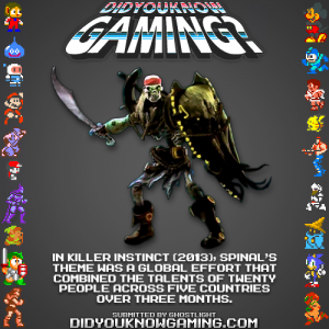 killer instinct fact 300x300 Random Game Facts Spinals Theme