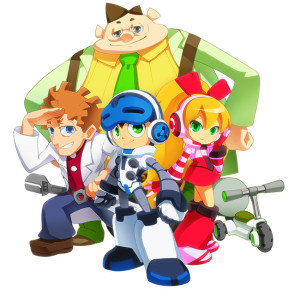 mighty no 9 tv artwork 1 300x289 Mighty No. 9 (Multi) Crowdfunding Round 2 Launched & Animated TV Series Announced