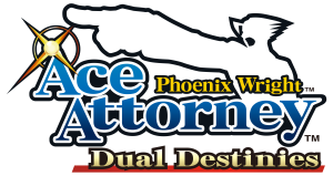 phoenix wright ace attorney dual destinies logo 300x159 Phoenix Wright: Ace Attorney Dual Destinies (3DS) Turnabout Reclaimed DLC Available Now