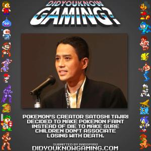 pokemon faint fact 300x300 Random Game Facts Why Do Pokémon Faint?