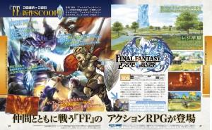 final fantasy explorers famitsu scan 1 large2 300x185 Final Fantasy Explorers (3DS) Famitsu Magazine Scans