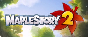 maplestory 2 logo 300x129 MapleStory 2 (PC) Logo & Trailer