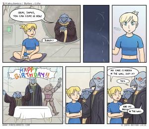 samus birthday 300x261 Morning LOL Samus Birthday