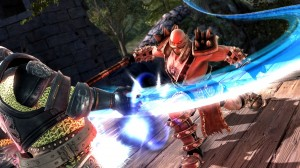soulcalibur lost swords screen 2 300x168 SoulCalibur: Lost Swords (PS3) Logo, Artwork, Screenshots, & Trailers